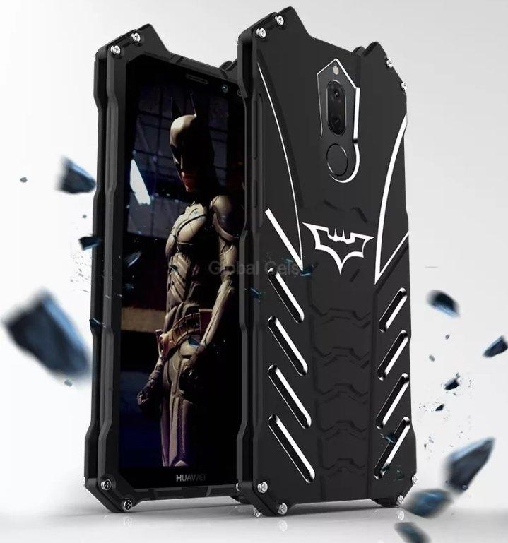 Case Huawei Mate 10 Lite Batman Protector Metálico con pernos 00276