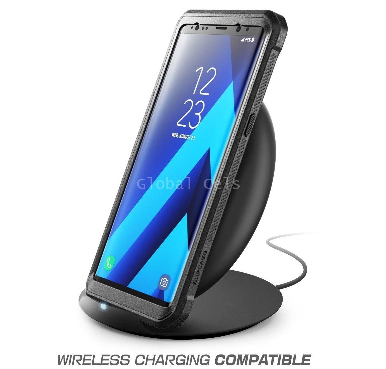 Case Protector Galaxy Note 8 Carcasa USA 360 c/ Mica c/ Gancho Parante