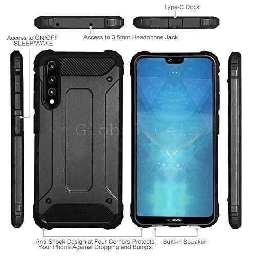 Case Huawei P20 Pro / P20 Antigolpes Super Reforzados de 2 partes