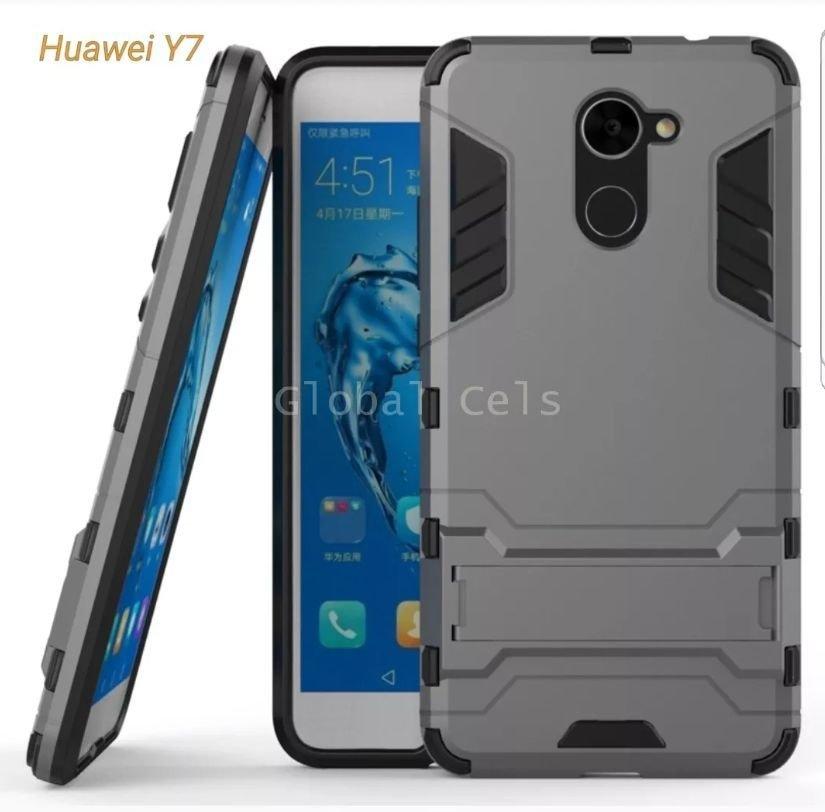 Case Huawei Y7 Prime Y7 2017 Funda con Soporte 00222