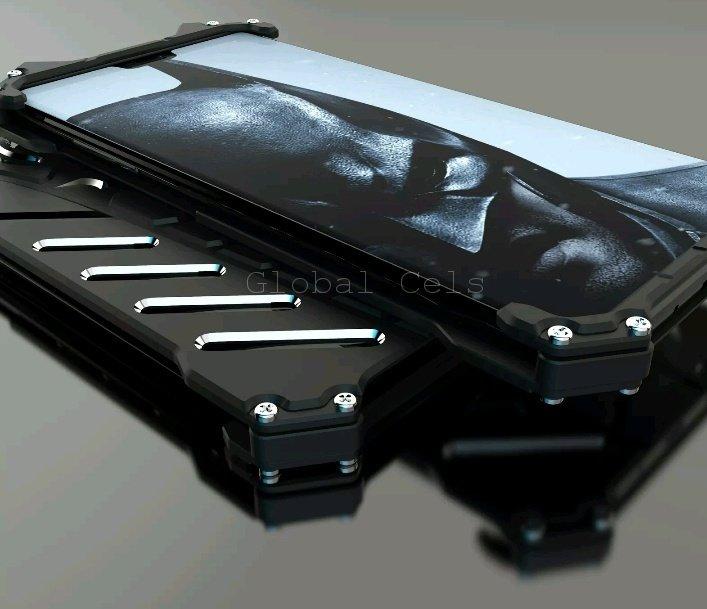 Case Protector Huawei P20 Metal Rjust Negros