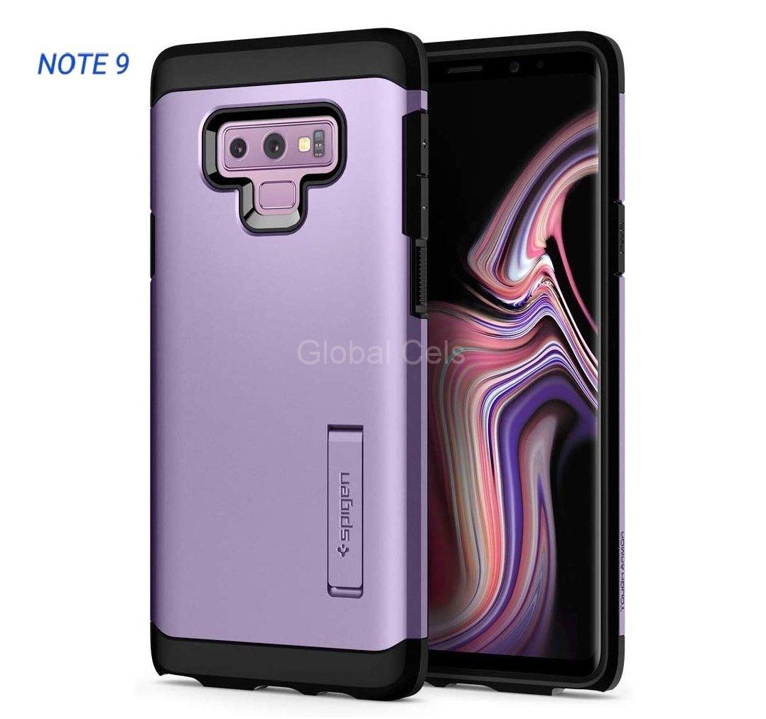 Case Galaxy Note 9 Morado Spigen 100% Originales  00316