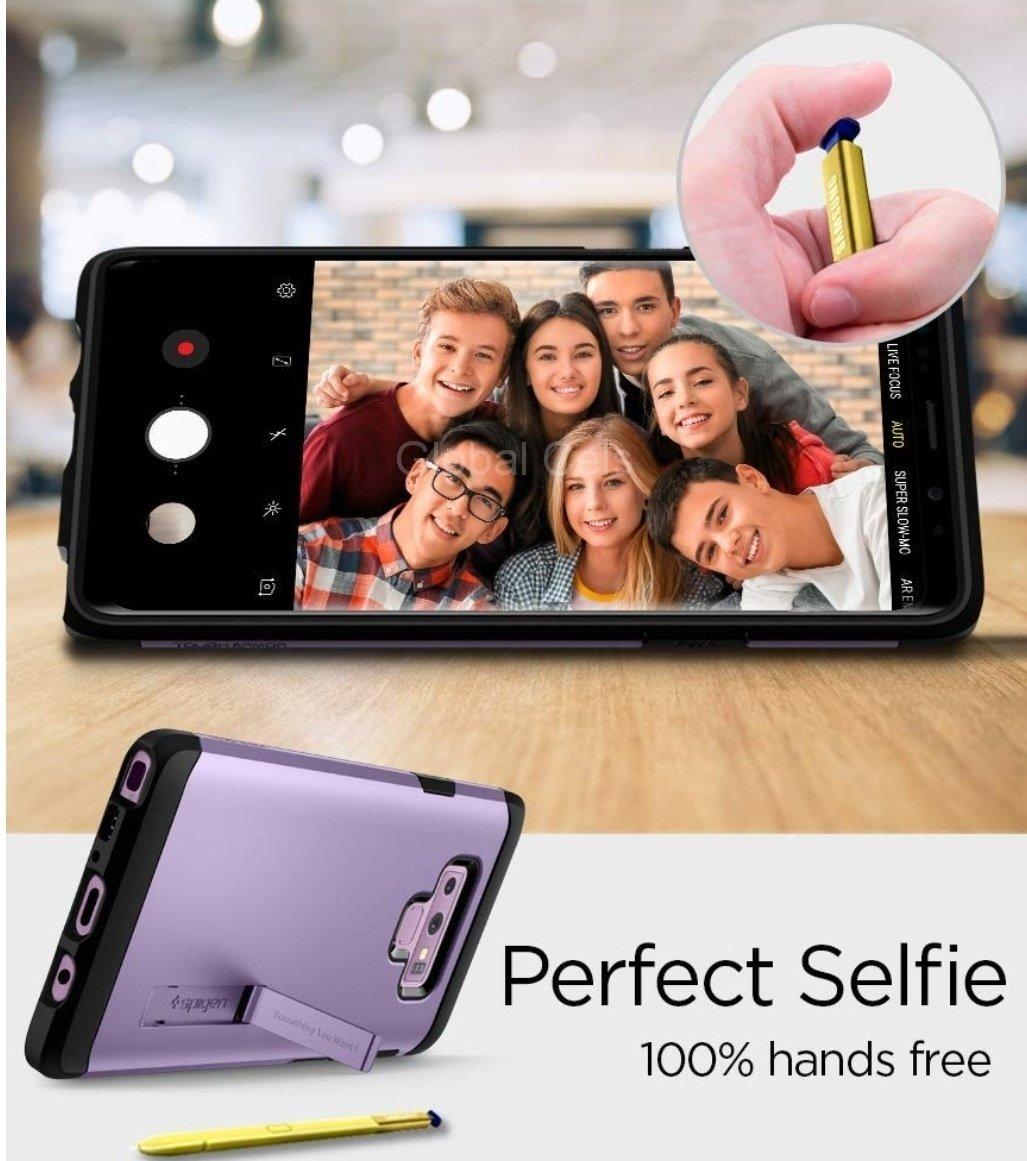 Case Galaxy Note 9 Morado Spigen 100% Originales