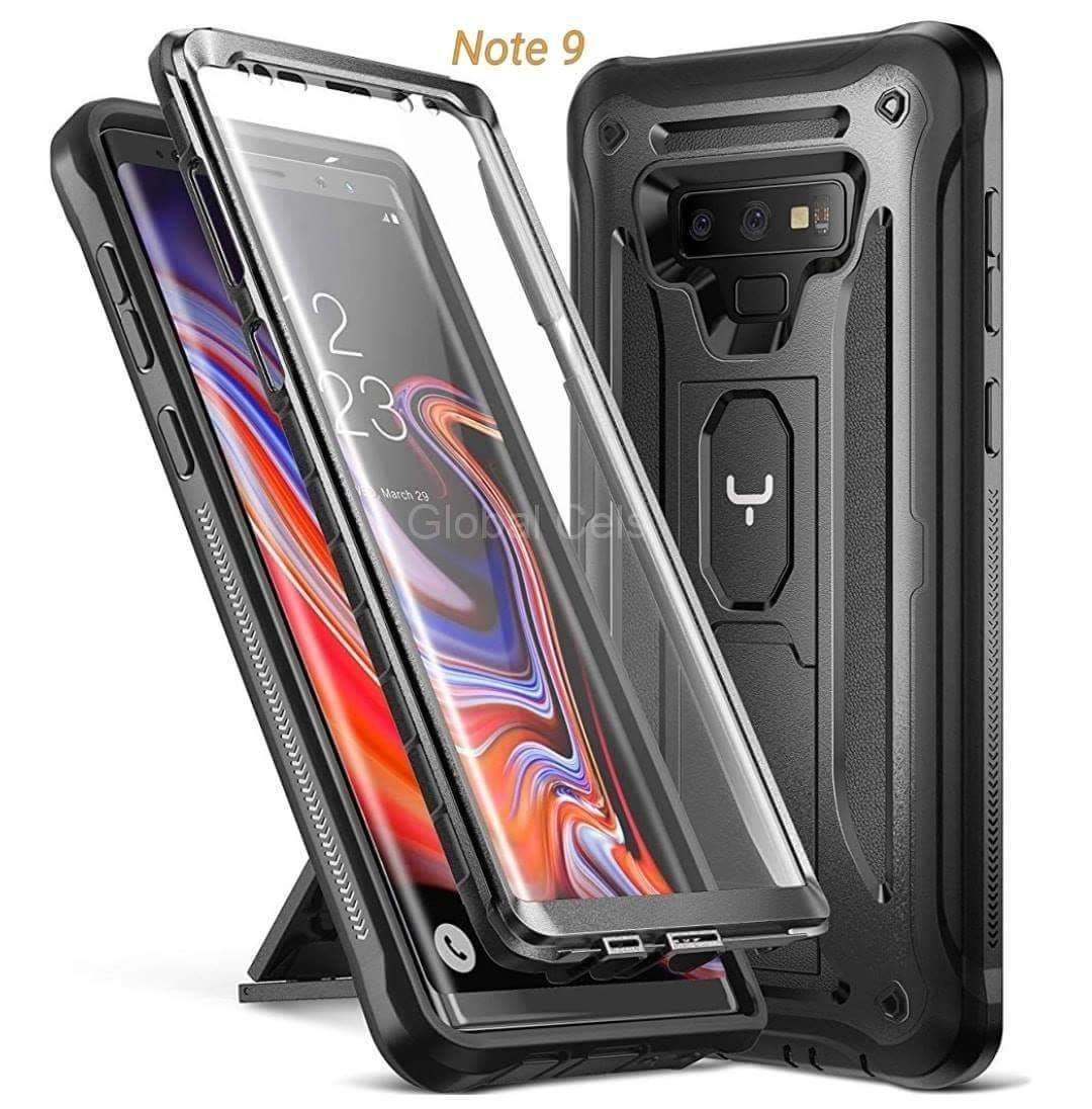 Case Galaxy Note 9 Armadura c/ Mica Integrada c/ Parador Vertical Horizontal 00311