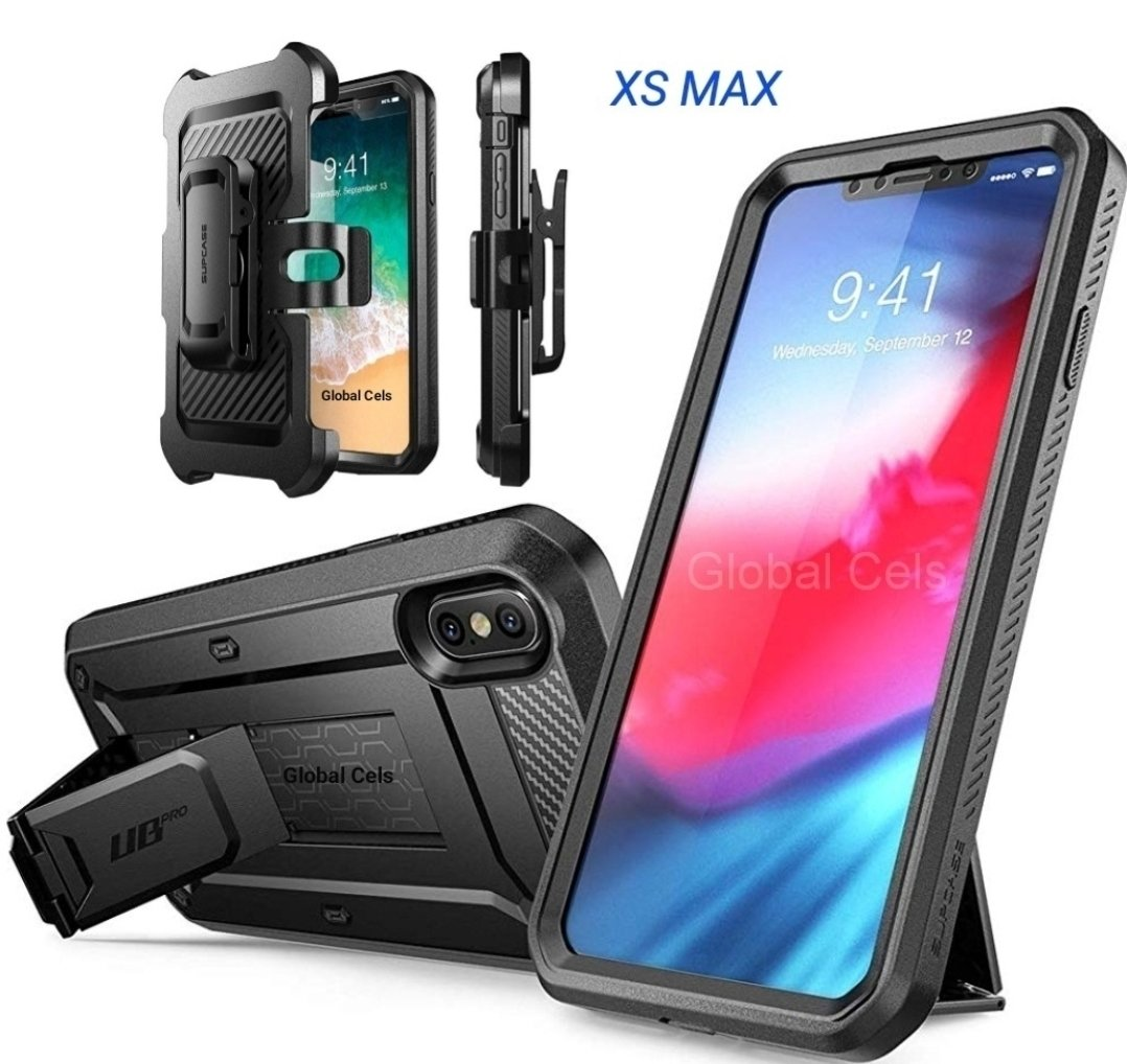 Case Iphone Xs Max Extremo c/ Parador Vertical c/ Mica c/ Gancho