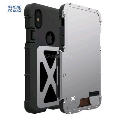 Case Iphone XS Max Metal Armadura c/ Tapa Acerado