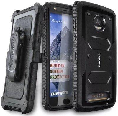 Case Protector Moto Z2 Play Carcasa 360 c/ Gancho c/ Mica