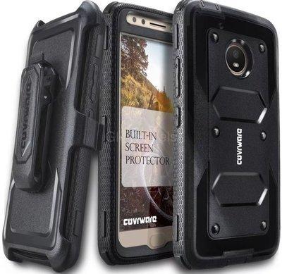 Case Funda Moto E4 Plus Carcasa 360 Negras Protector c/ Gancho