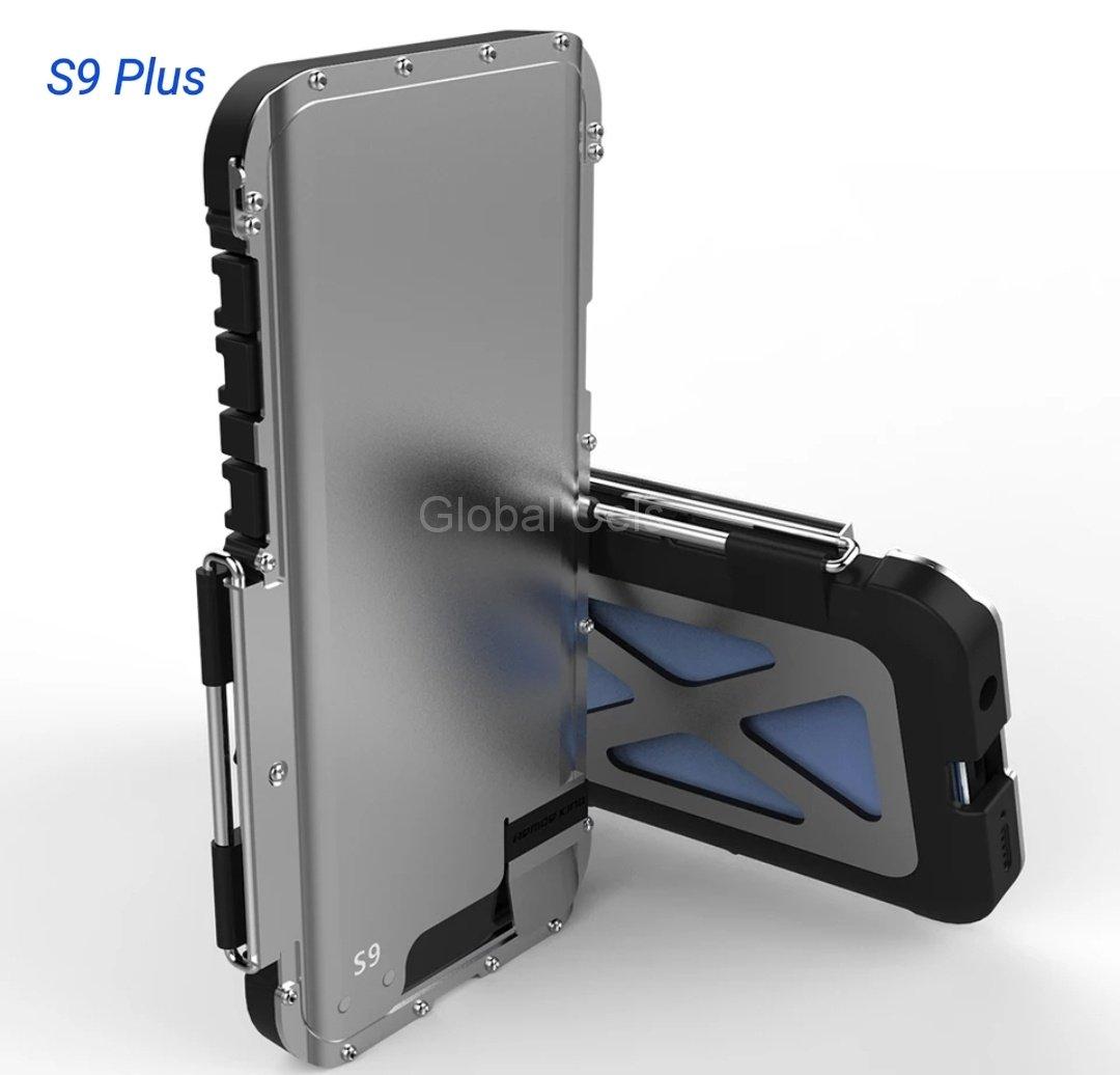Case Samsung Galaxy S9 Plus Armadura Acerado con Pc Protector de Caídas
