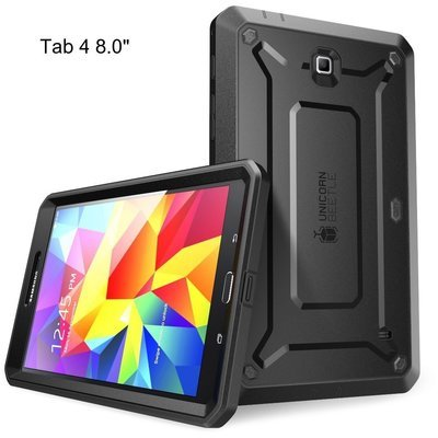 Case Galaxy Tab 4 8.0 pulgadas SM-T330 c/ Mica Integrada Supcase Unicorns