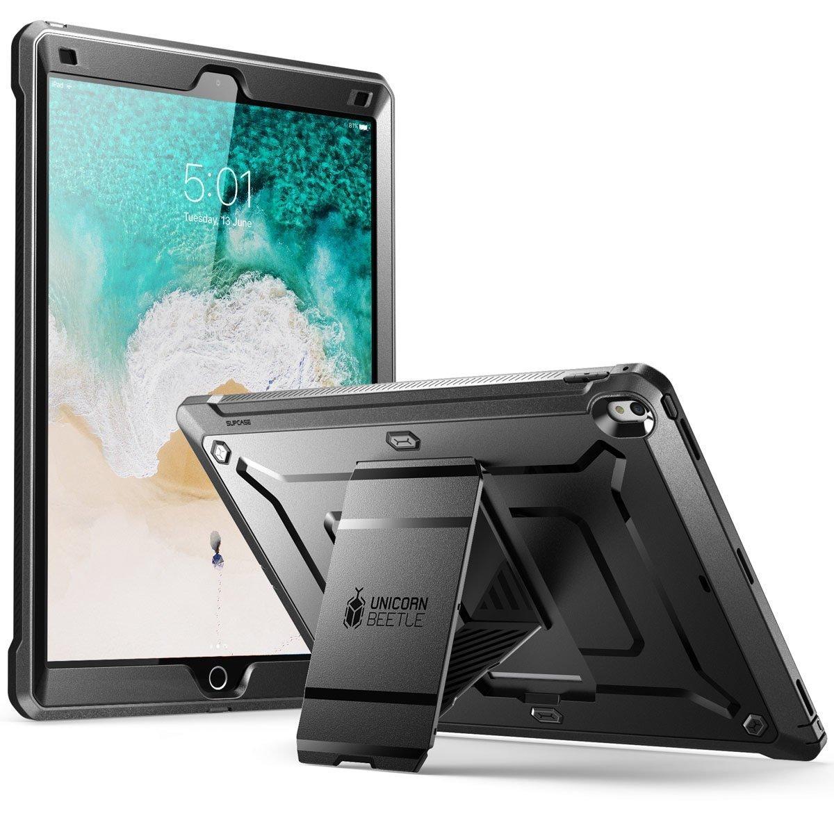 """Case Ipad 9,7"""" Ipad 5 IPad 6 Ipad 2017 2018 Supcase color Negro 00338"""