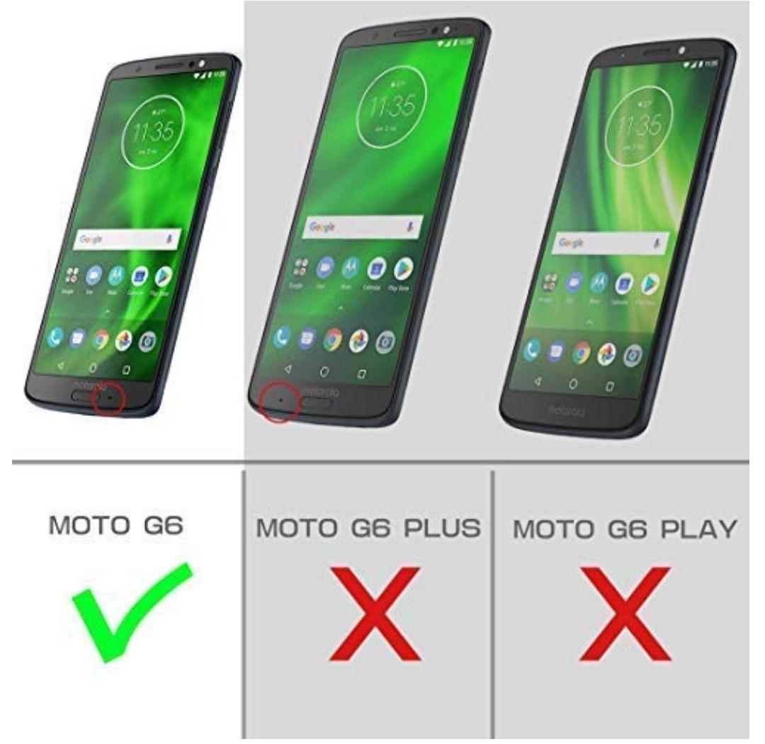 Case Funda Moto G6 Normal Supcase de Alta Protección c/ Mica c/ Gancho