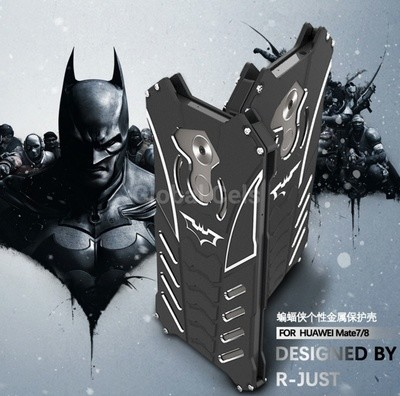 Case Metal Huawei Mate 7 / Mate 8 con Pernos atornillables RJUST BATMAN