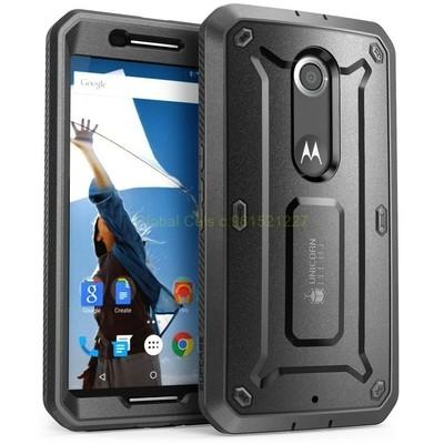 Supcase Motorola Google Nexus 6 con Mica Incorporada super sensible y gancho