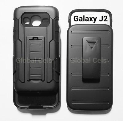 Case Galaxy J2 2016 Armor Holster con gancho y soporte