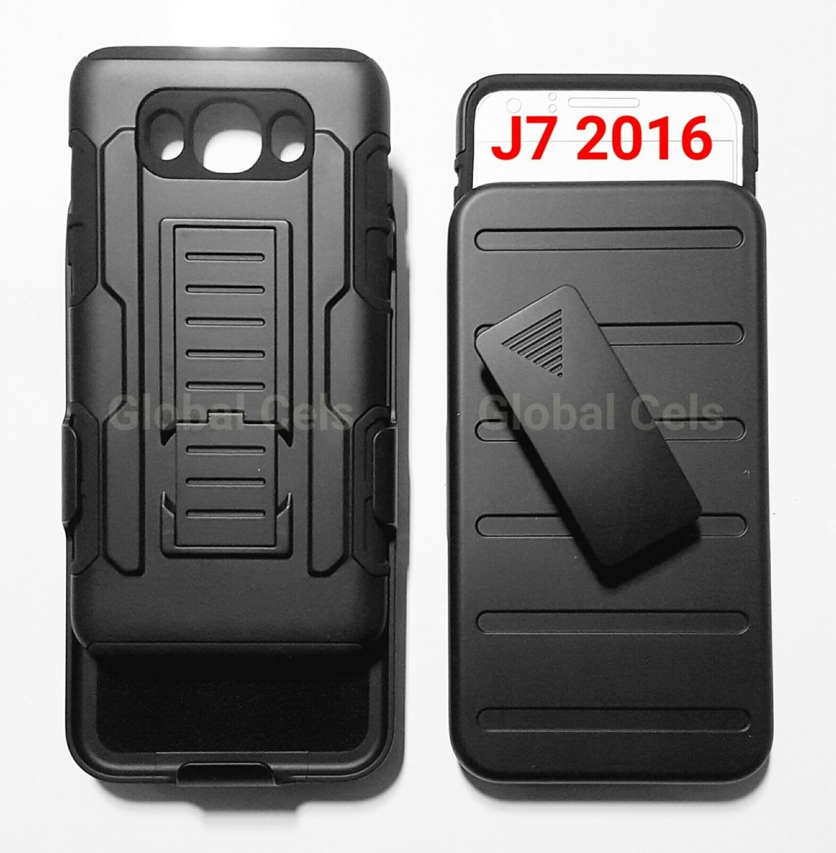 9a9c379d456 Case Galaxy J7 2016 holster de 3 partes c/ Clip y Parante