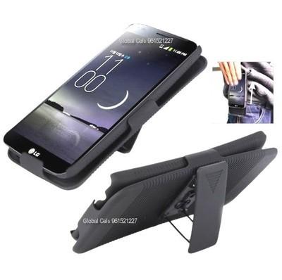 Case Clip Gancho LG G Flex D958 Holster giratorio 180 grados