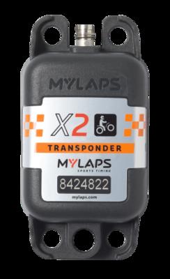 X2 Personlig MX Transponder (Komplett paket) 1-5 års prenumeration