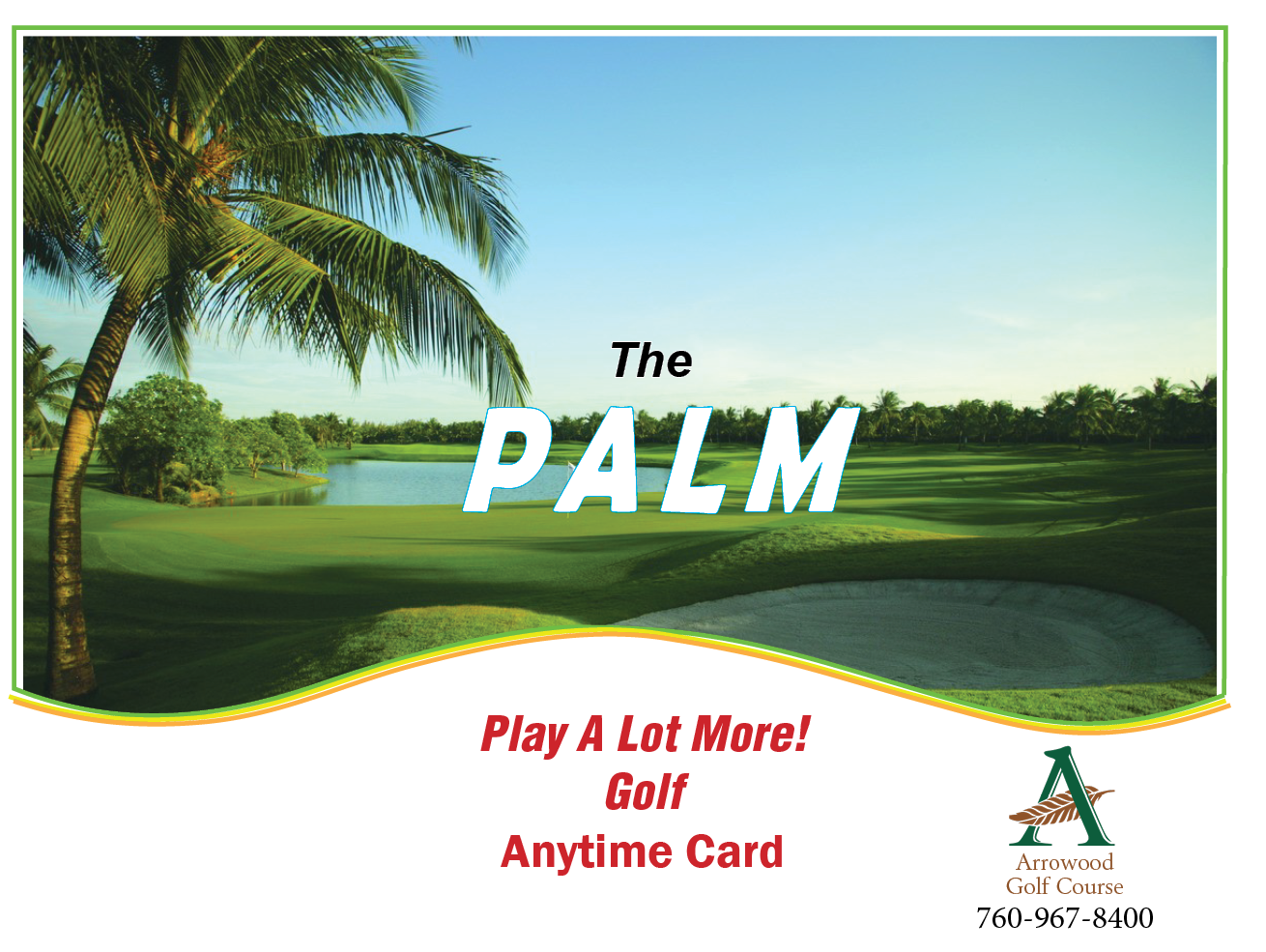 PALM Anytime Card / Coupon Book