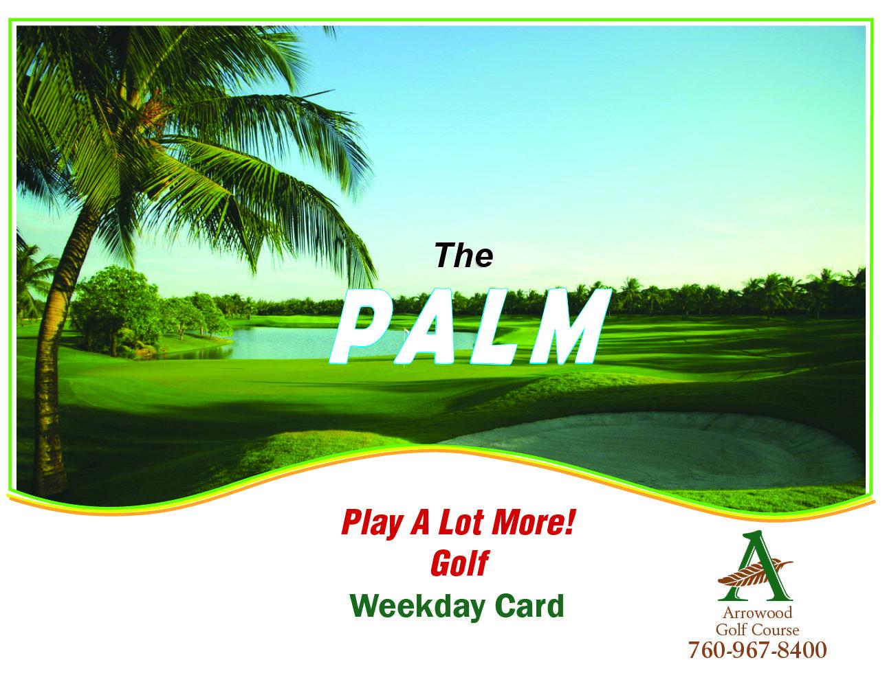 PALM Weekday Card / Coupon book