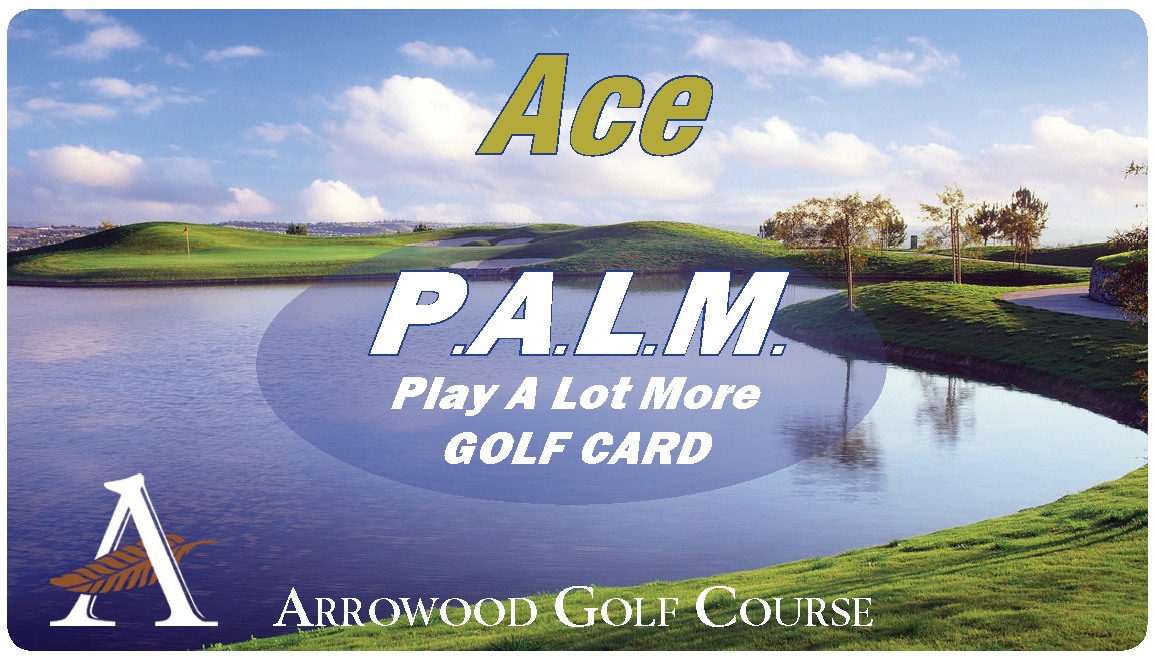 PALM ACE (Anytime) Golf Rewards Card $279