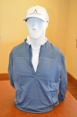Adidas Men's Jacket, Steel Blue