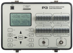 Vishay Model P3 Strain Indicator & Recorder 00124