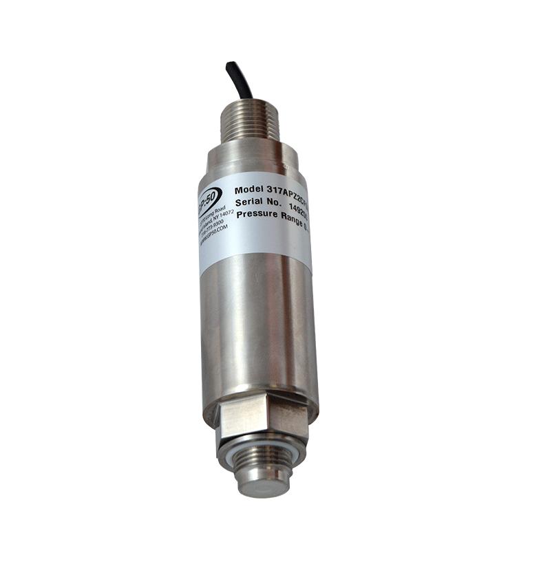 GP:50 General Purpose Flush Diaphragm Pressure Transducer/Transmitter Models 117, 217, 317 00154