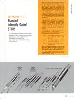 Strainsert Standard Internally Gauged Studs