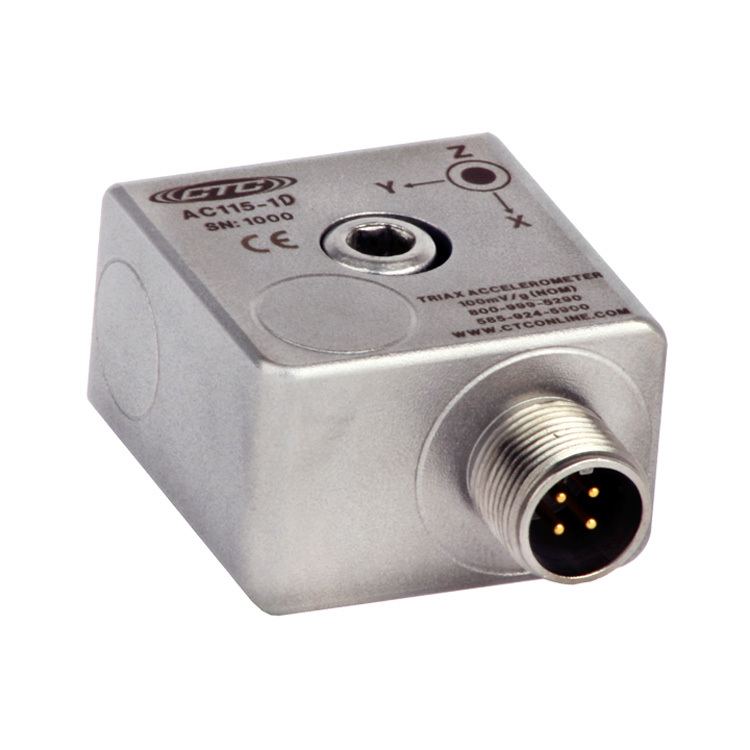 AC115 Series Low Cost Accelerometer, Triaxial, 100 mV/g 00246