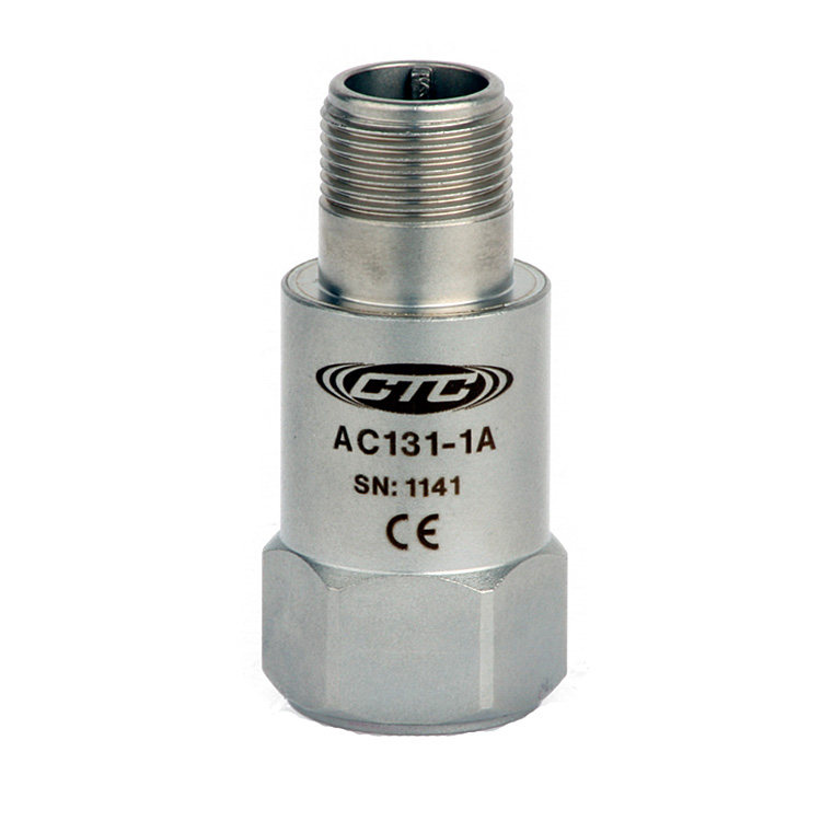 AC131 Series High g Accelerometer, Top Exit Connector/Cable, 10 mV/g 00251
