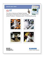 Noncontact Linear Position / Displacement / Proximity Sensing Kaman digiVIT