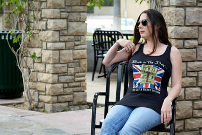 Womens Tank Top - A Ticket to Ride