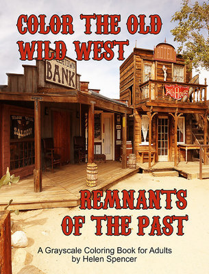 Old Wild West Coloring Book for Adults Digital Download