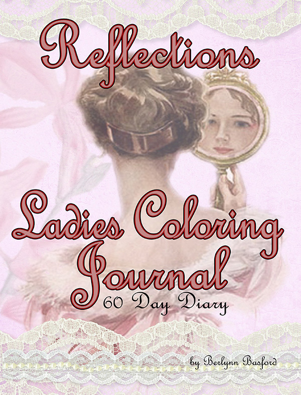 Vintage Ladies Coloring Journal Digital Download vlcj2017