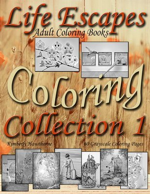 Life Escapes Coloring Collection 1 PDF Digital Download