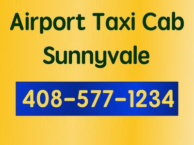 Taxi SFO Airport to Sunnyvale 94085 via 101 freeway