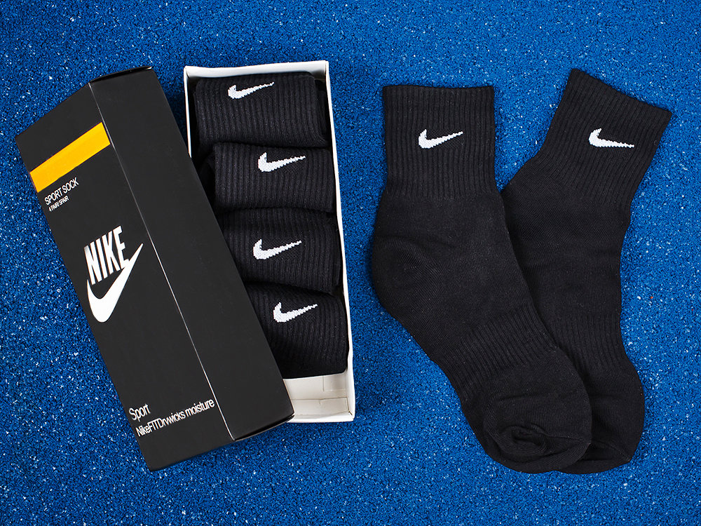 Носки длинные Nike - 5 пар 8002