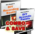 DIY Studio Plans (2 Ebooks: Booth PLUS Acoustic Panels)