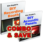 DIY Studio Plans (2 Ebooks: Booth PLUS Acoustic Panels)