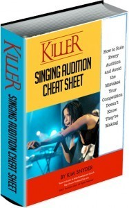 Killer Audition E-Book & Bonus Audition Planner