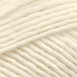 CLOSEOUT -- Coned One Ply Sport Weight Wool Yarn -- Natural white -- 8 oz. cone