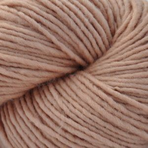 CLOSEOUT -- Reeled Skein --  One Ply Sport Weight Wool Yarn -- New Dune -- 4 oz. skein
