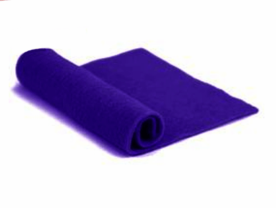 Merino Wool Pre-Felt -- Deep Purple