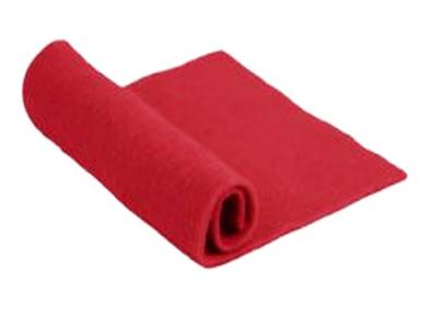 Merino Wool Pre-Felt -- Red