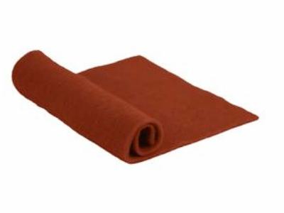 Merino Wool Pre-Felt -- Rust