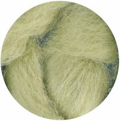 NZ Corriedale Wool Roving -- NEW! Sage