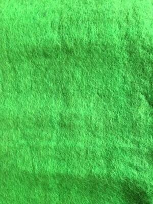 Handmade 100% Wool Felt -- Lime