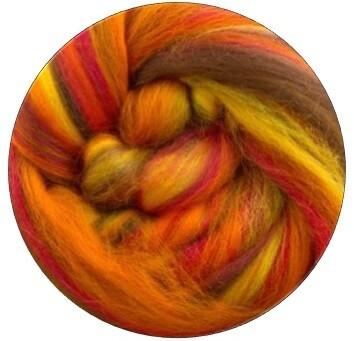 Fine Merino Wool Roving -- NEW! Autumn
