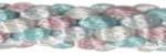 2mm Rat Tail Satin Cord Color Mix -- Pastel Tones